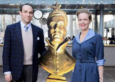 The Mousetrap at the Oliviers with Hannah Robertson